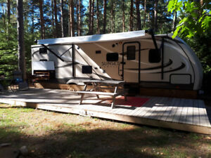 2016 Sunset Trail camping trailer