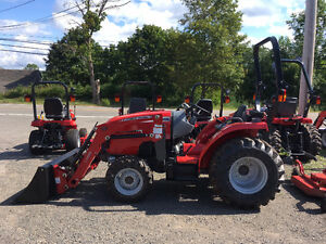 Massey Ferguson 39hp Tractor - DEMO SALE - ONE ONLY