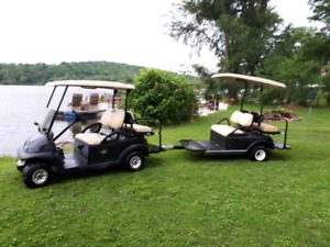 Golf Cart Gas With Trailer
