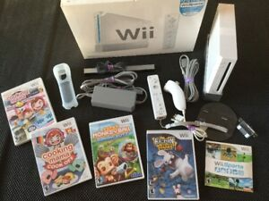 Wii + Rayman Rabbids, Monkey Ball et plus.. - 100$