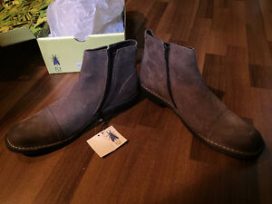 Fly London Men's Boots Brown (Rong Stone) EU 45
