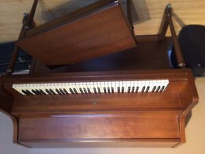 Lesage 73 key apartment size piano & bench