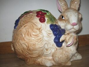 Porcelain Mother Bunny and Baby Bunny