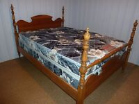 Double boxspring & mattress  rarely used