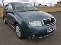 LOW MILEAGE SKODA FABIA TDI, 1 FORMER KEEPER, 65 MPG