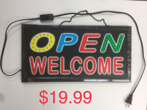 $19.99 Board Advertisement Electric Display Led Open Sign