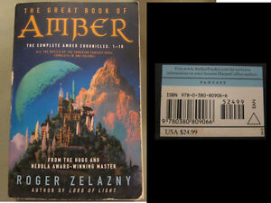Great Book of Amber Amber Chronicles Book 1-10 (Retail$25US) $8 Kingston Kingston Area image 1