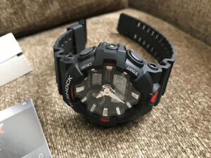 MANS XL GSHOCK WATCH  NEW