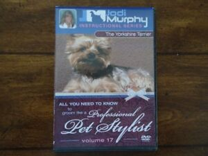 DVD formation toilettage Yorkshire Terrier