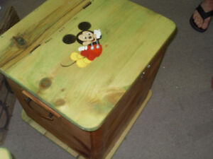 Storage chests Toy chest and Hope chest
