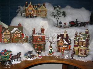 A Christmas Carol Dickens Village Department 56 Decorations