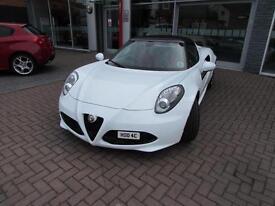 2015 Alfa Romeo 4C TBI SPIDER ** HUGE SPEC ** Petrol white Semi Auto