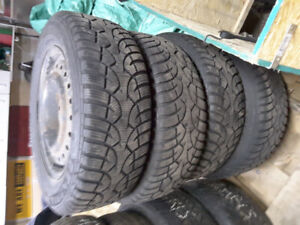 Honda Civic Snow Tires And Rims Forsale