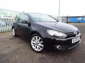 2009 Volkswagen Golf 1.4 TSI GT ( 160ps ) BLACK 3 DOOR FULL MOT 61K MILES