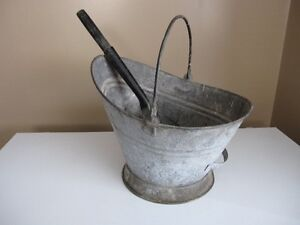 Antique Coal Bucket St. John's Newfoundland image 1