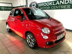 image for 2013 Fiat 500 1.2 S [LEATHER & £30 ROAD TAX] HATCHBACK Petrol Manual