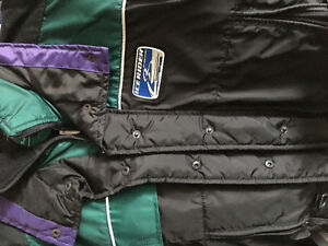 New ice rider by mustang coat with flotation system