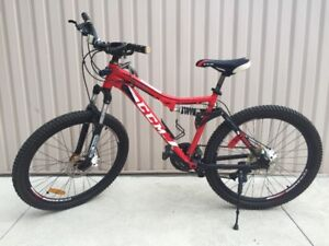 Stolen!CCM Stride Full Suspension Mountain Bike-26in-alum frame