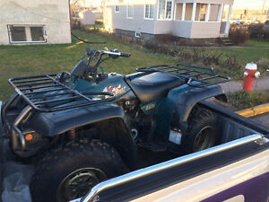 1998 Yamaha Big Bear 350 4x4