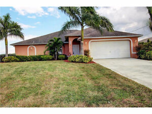 **LOCATED IN CAPE CORAL, FL - BEAUTIFUL CANALFRONT HOME**