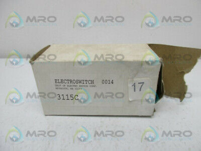 Electroswitch 3115c Rotary Switch New In Box