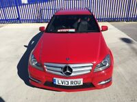 MERCEDES-BENZ C CLASS 2.1 C220 AMG SPORT ONLY 22000 MILEAGE