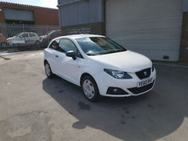 2010 60 SEAT IBIZA 1.2 3DR SPORT COUPE ONLY 42,000 MILES WARRANTED