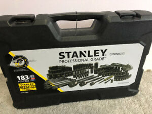 Stanley Professional Grade 183 pcs Tool set. Brand New never use