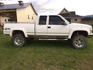 1997 lifted chevy 1500 4x4