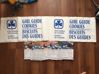 Cookie Selling Banner & Recipes