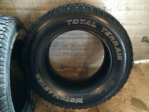 4-Studded 245/65/17 tires