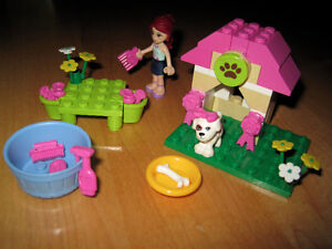 Lego friends: Puppy house (3934) + Poodle Palace (41021)
