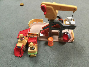 Construction site toy