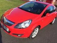 2008 Vauxhall/Opel Corsa 1.2i 16v ( a/c ) SXi 3 Door hatchback Manual