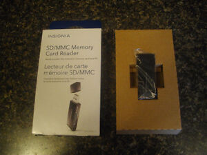 INSIGNIA SD /MMC MEMORY CARD READER
