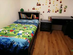 Mobilier chambre enfant lit simple