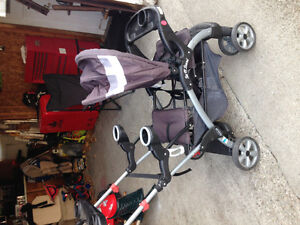 Baby Trend double sit and stand stroller $80 or best offer