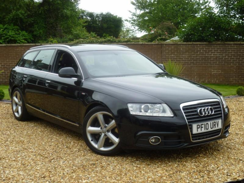 2010 10 audi a6 avant 2 0 tdi s line avant 170 bhp manual 1 previous owner in rotherham. Black Bedroom Furniture Sets. Home Design Ideas