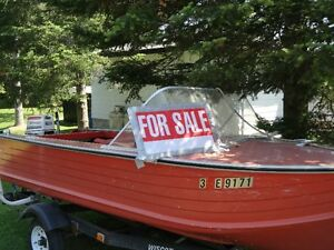 Great boat, motor and trailer for sale