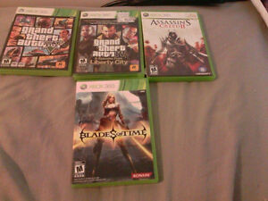 Xbox 360 Games (4 Games in total)