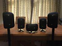 Bower Wilkins m1 speakers