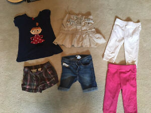 Girls size 4 summer lot