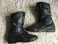 Pro sports motorcycle boots