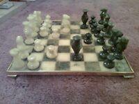 Alabaster Chess Set