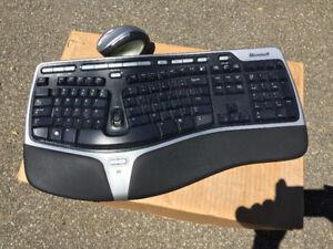Microsoft Ergonomic Keyboard and Mouse