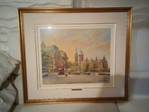 Confederation Square , Ottawa Limited Edition Art Painting