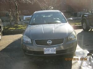 2005 Nissan Altima Coupe (4 doors