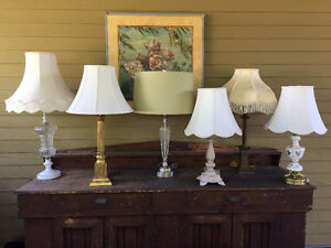 (x6) Table Lamps
