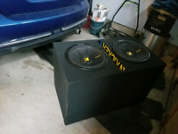 2 12 inch kicker subs for sale