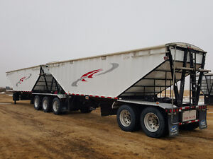 2015 Berg's Super B Grain Trailer